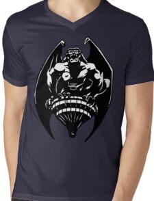 Gargoyles Goliath - Black and White  Mens V-Neck T-Shirt