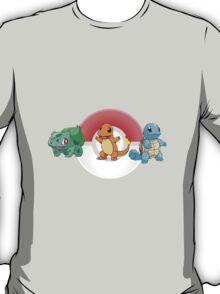 Pokemon Generation One Starters T-Shirt