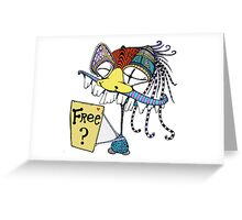 Free? Greeting Card