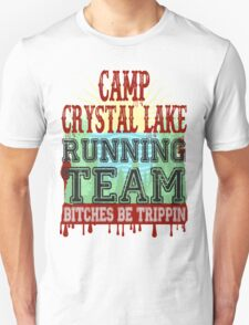 Camp Crystal Lake Running Team Unisex T-Shirt