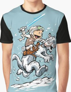 Calvin and Hoth Graphic T-Shirt