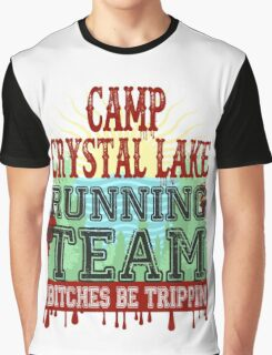 Camp Crystal Lake Running Team Graphic T-Shirt
