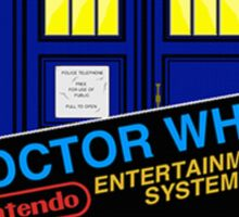 Nintendo: NES DOCTOR WHO The Game  Sticker