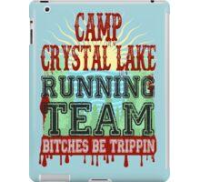 Camp Crystal Lake Running Team iPad Case/Skin