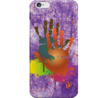 Grunge Colorful Hands iPod /iPhone Case / Samsung Galaxy Cases  iPhone Case/Skin