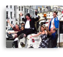 Jimmy Cricket & Crew Are In Town Canvas Print