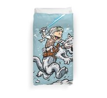 Calvin and Hoth Duvet Cover