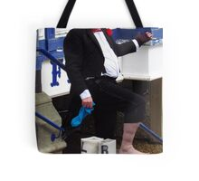 Left and Right Boots Tote Bag