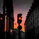 Orange light by Laurent Hunziker