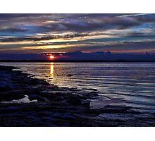 Sundown Blues Photographic Print