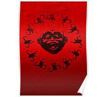 Barrel of 12 Monkeys Poster