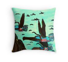 WIZARD OF OZ FLYING MONKEYS Throw Pillow