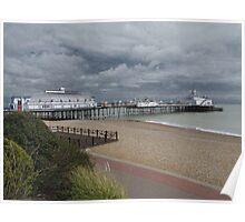 Eastbourne Pier, Sussex Poster