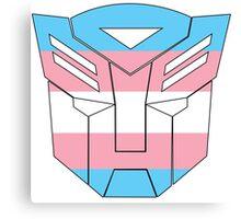 Autobot Pride [Transgender] Canvas Print