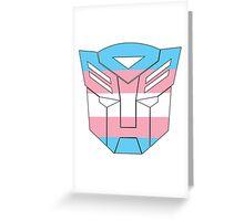Autobot Pride [Transgender] Greeting Card