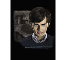Norman Bates-Bates Motel Photographic Print