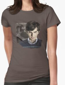 Norman Bates-Bates Motel Womens Fitted T-Shirt