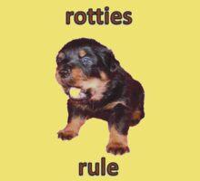 Rotties Rule Kids Tee