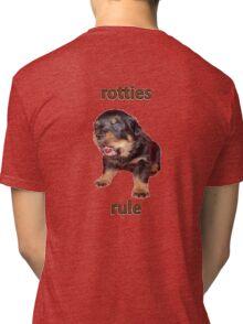 Rotties Rule Tri-blend T-Shirt