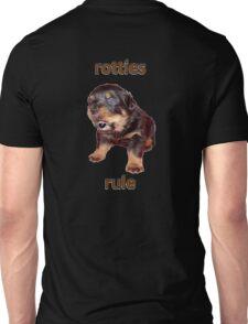 Rotties Rule Unisex T-Shirt