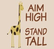 Aim High Stand Tall by coolfuntees