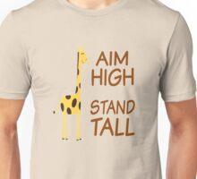 Aim High Stand Tall Unisex T-Shirt