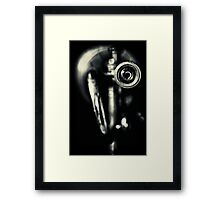 As Blues as Blues can be.... Framed Print