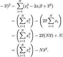 Calculating Standard Deviation by avinash101