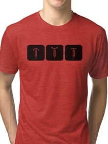 Velodrome City Icon Series no.6 Tri-blend T-Shirt