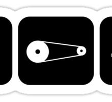 Velodrome City Icon Series no.3 Sticker