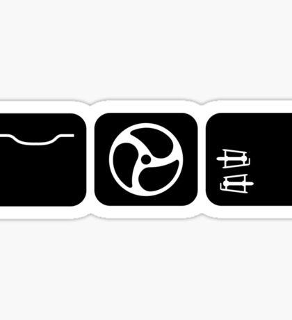 Velodrome City Icon Series no.2 Sticker