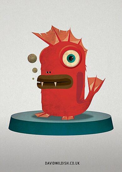 FishStix Monster by David Wildish