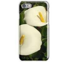 White Lilies iPhone Case/Skin