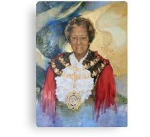 Lady Mayor Canvas Print