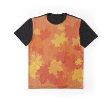 Fall Leaves Graphic T-Shirt