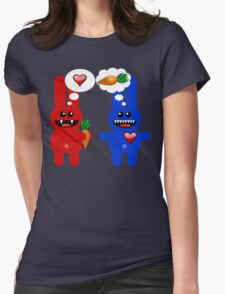 BUNNY LOVE! Womens Fitted T-Shirt