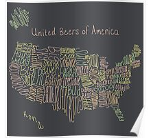 United Beers of America Poster