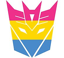 Decepticon Pride [Pansexuality] Photographic Print