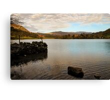 Rydal Water Morning Canvas Print