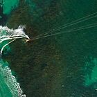 Kite Surfing in Western Australia #1 by Al Edgar