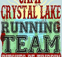 Camp Crystal Lake Running Team by Maehemm