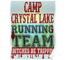 Camp Crystal Lake Running Team Poster