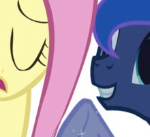 Fluttershy And Luna Sticker