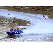 Southern Ski Boat Race Photographic Print