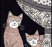 Cat Sighs by Anita Inverarity