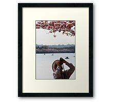 photographer. Framed Print