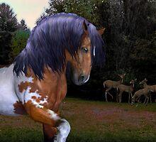 The Wild Stallion ..  by LoneAngel