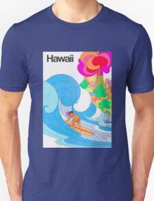 Hawaii Travel Poster Unisex T-Shirt
