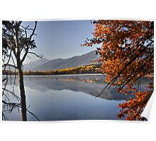 Jasper National Park in Autumn, Canada Poster