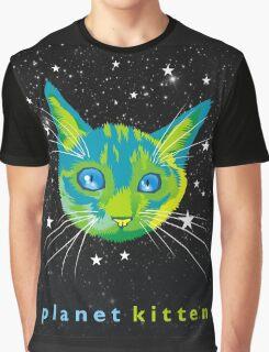 Planet Kitten Graphic T-Shirt